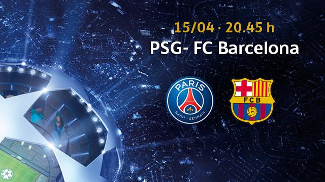 La solicitud de entradas para el París Saint-Germain – FC Barcelona, a partir del viernes 27 de marzo