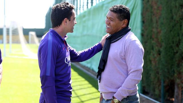 Donato: «Todos querrían estar en el lugar del Barça»