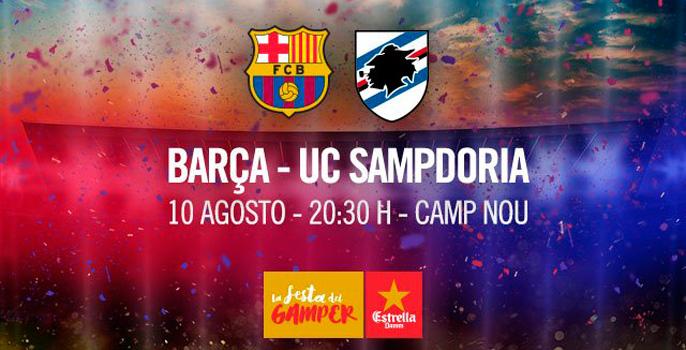 El Trofeo Joan Gamper, el día 10 de agosto