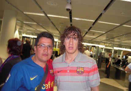 Ven a conocer al los jugadores del FC Barcelona con la peña